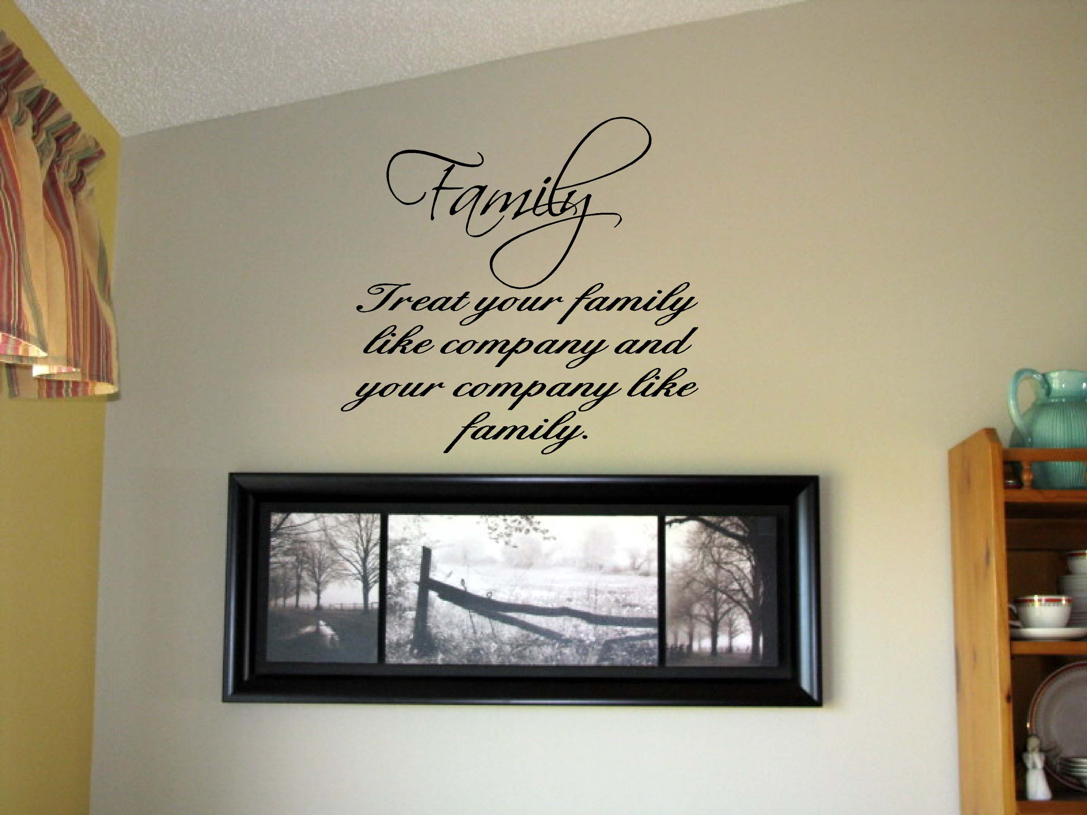 Sisters Different Flowers Vinyl Wall Art Words Decals .