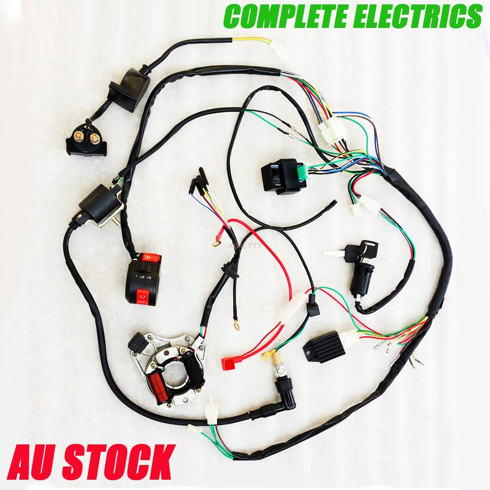 Wire Diagram For A Dirt Bike 250 Practice Electrical Wiring – Jcl 110cc Atv Wiring Harness