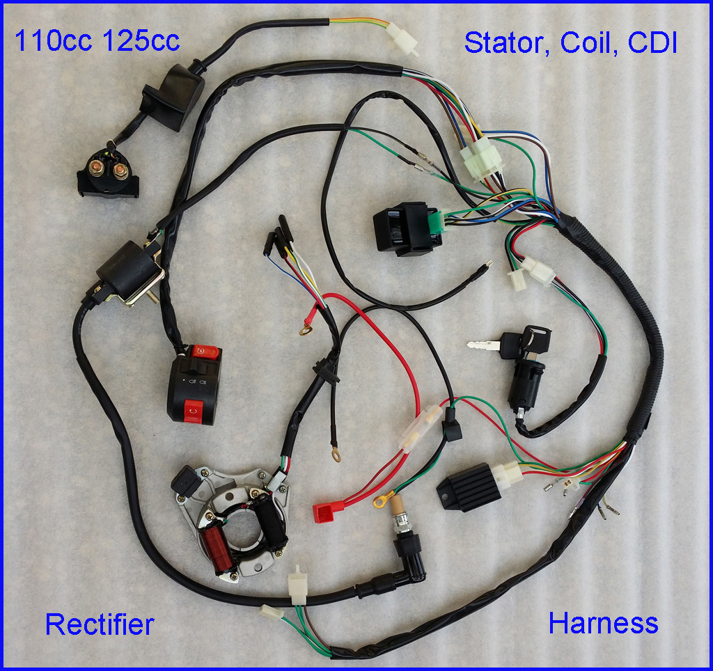 A2 Wiring Diagram Cc Cdi Wire Harness Stator Assembly Wiring Set Atv 5 Wire  Cdi Wiring Diagram 110 Cc Stator Cdi Wiring Diagram
