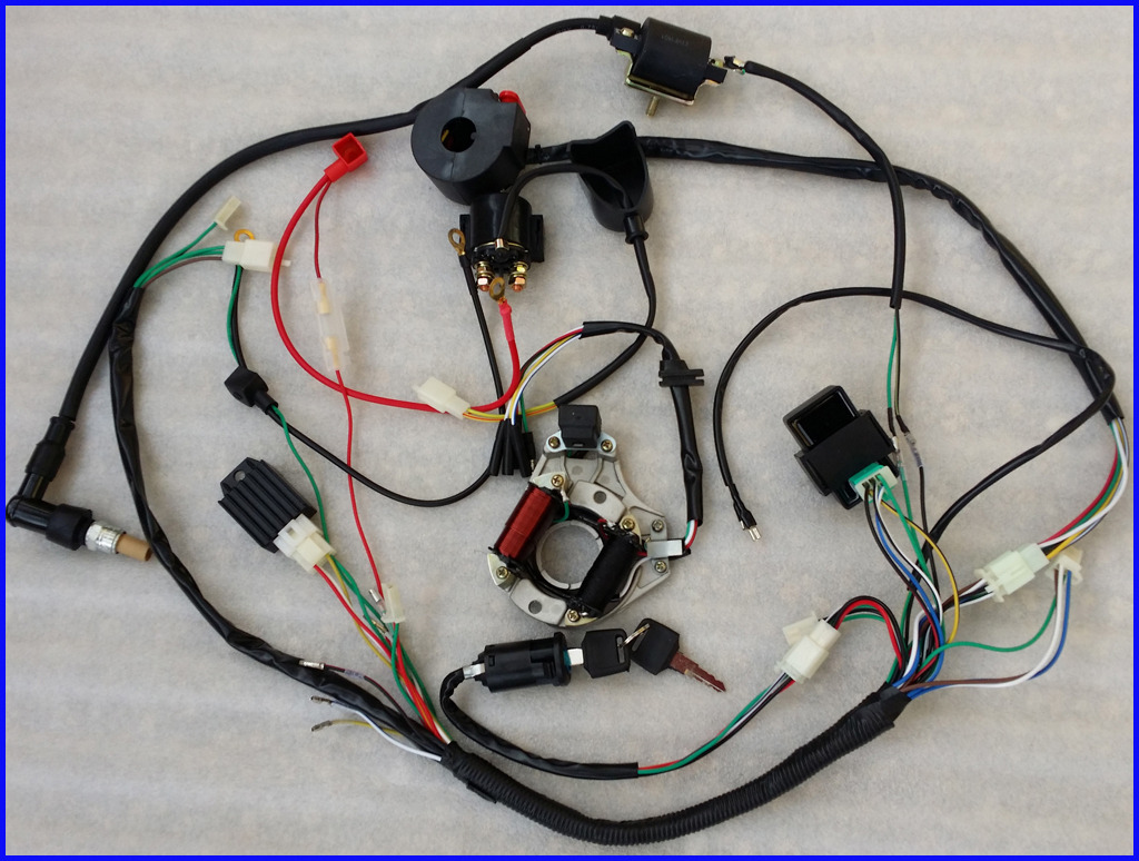 for ssr 110 atv wiring diagram 110 cc atv electrical diagram, Wiring diagram