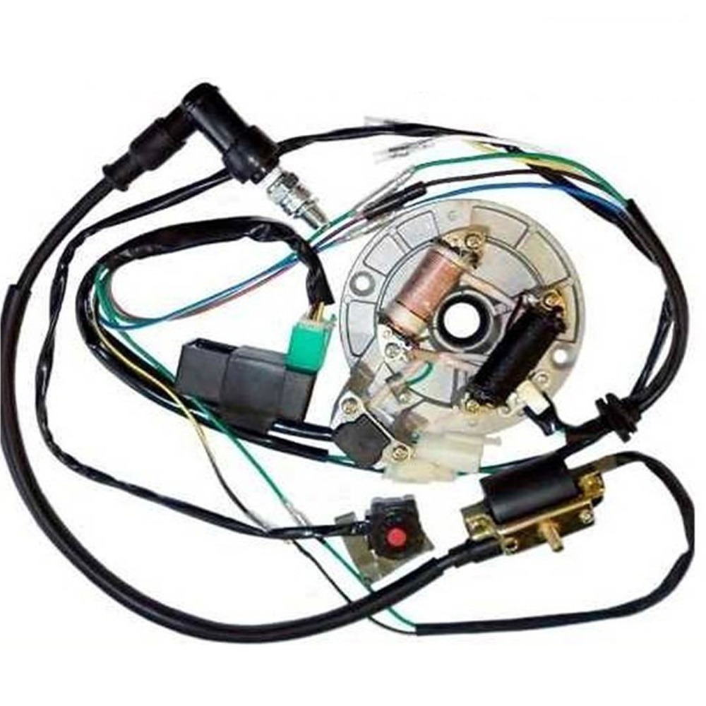 Chinese Atv Wiring Diagram 50cc Will Be A Thing Mini All Electrics 50 110 125cc 140 Wire Harness Cdi Coil Diagrams