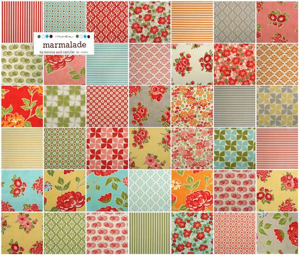 Marmalade Layer Cake Fabric