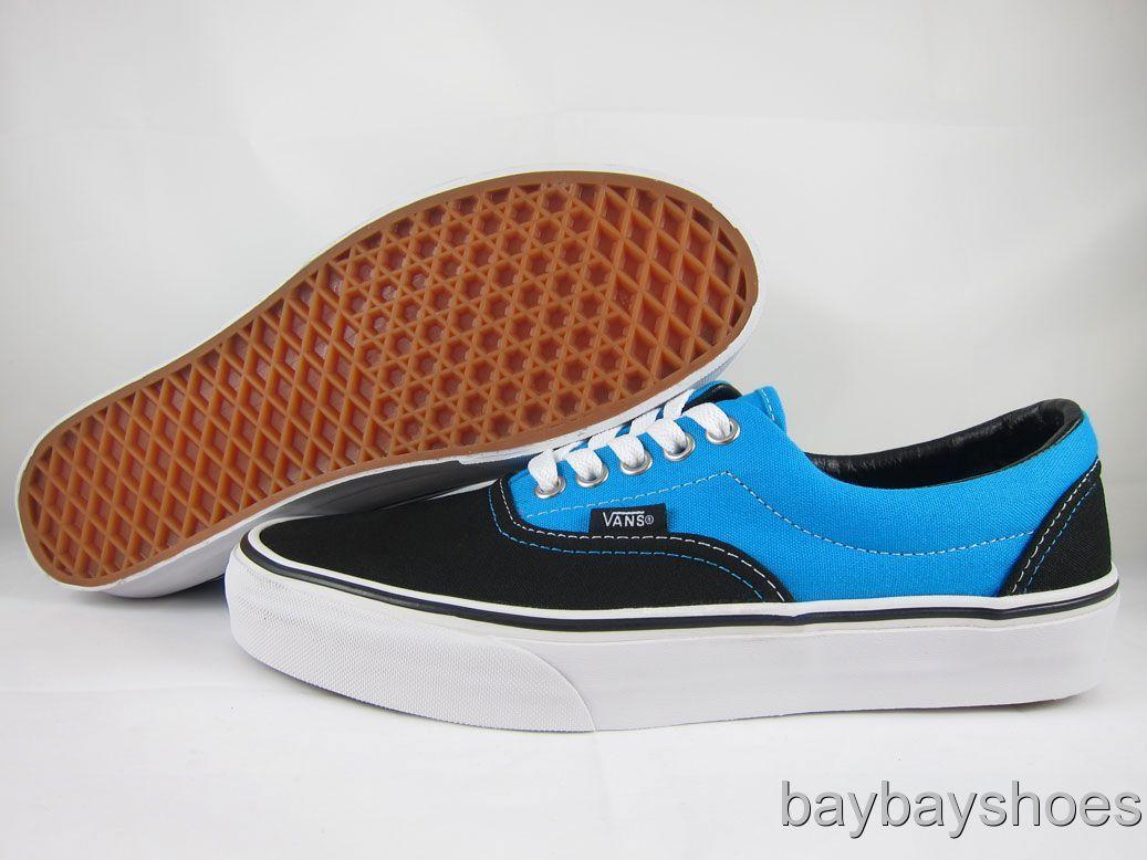 Mens Vans Shoes Blue Hawaiian