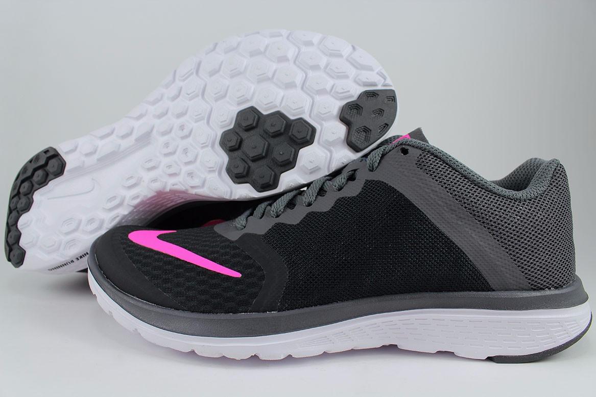 Nike Fs Lite Run Womens Training Shoes Black Dark Gray