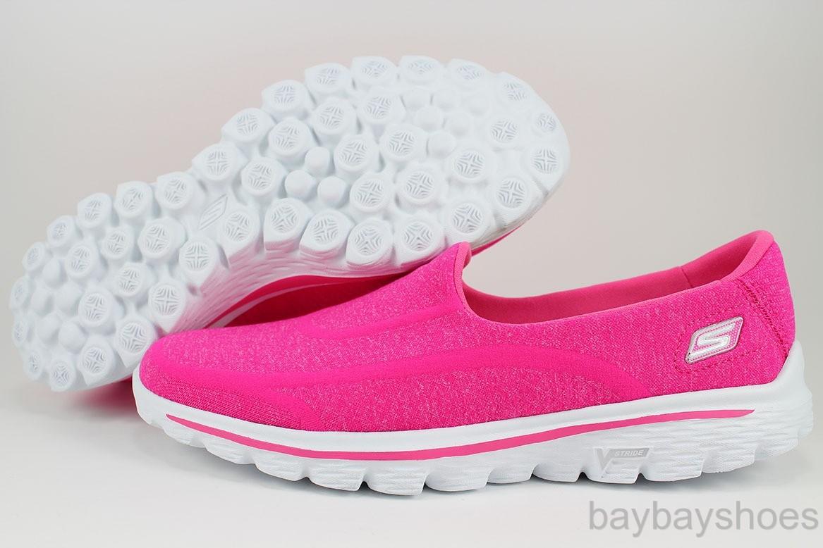 Skechers Go Walk Shoes Lafies Size  Wide
