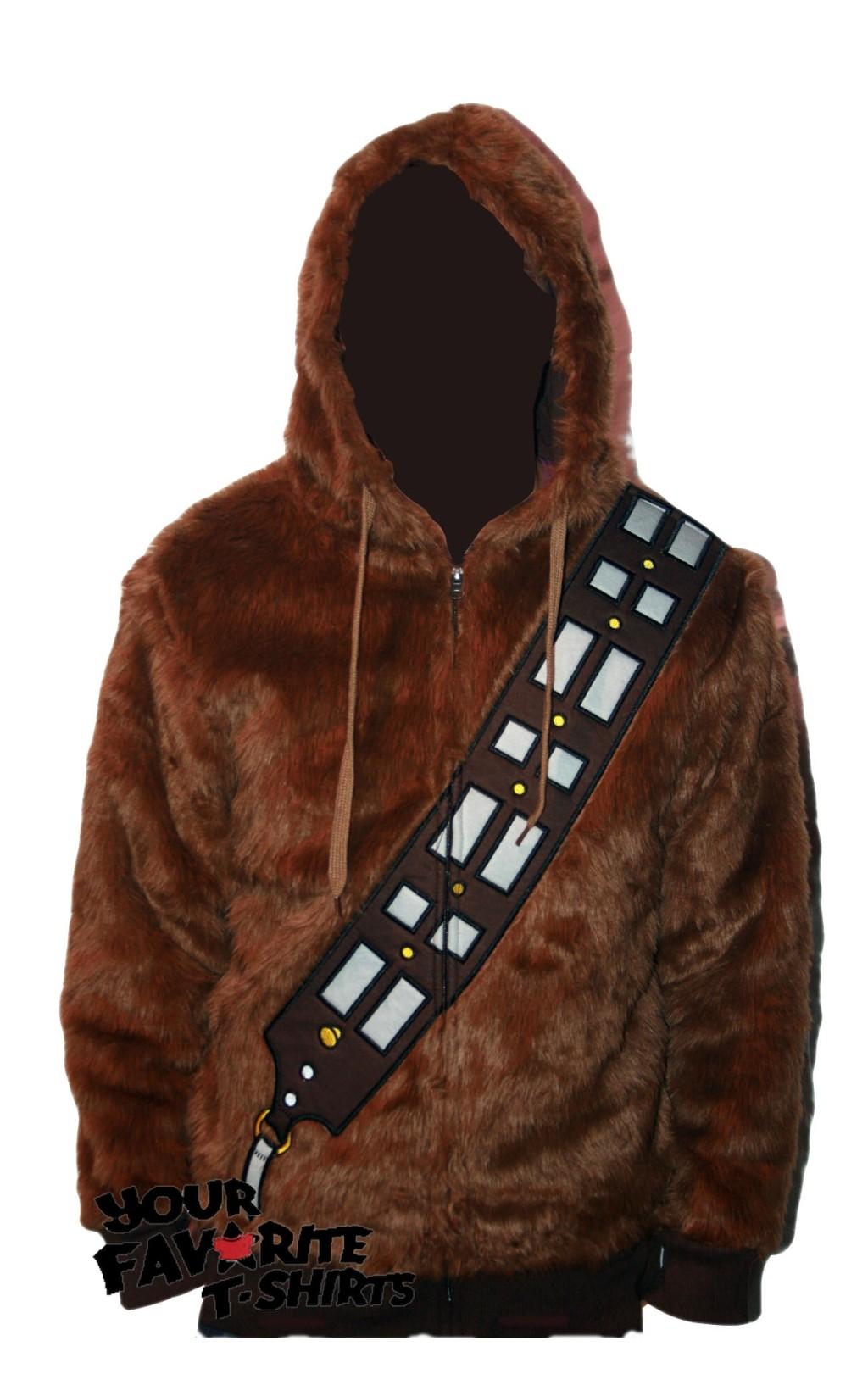 Chewbacca Costume Zip Up Hoodie