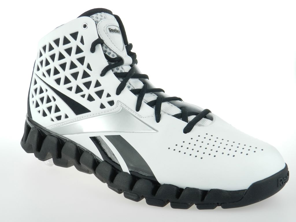 White Zigzags Shoes
