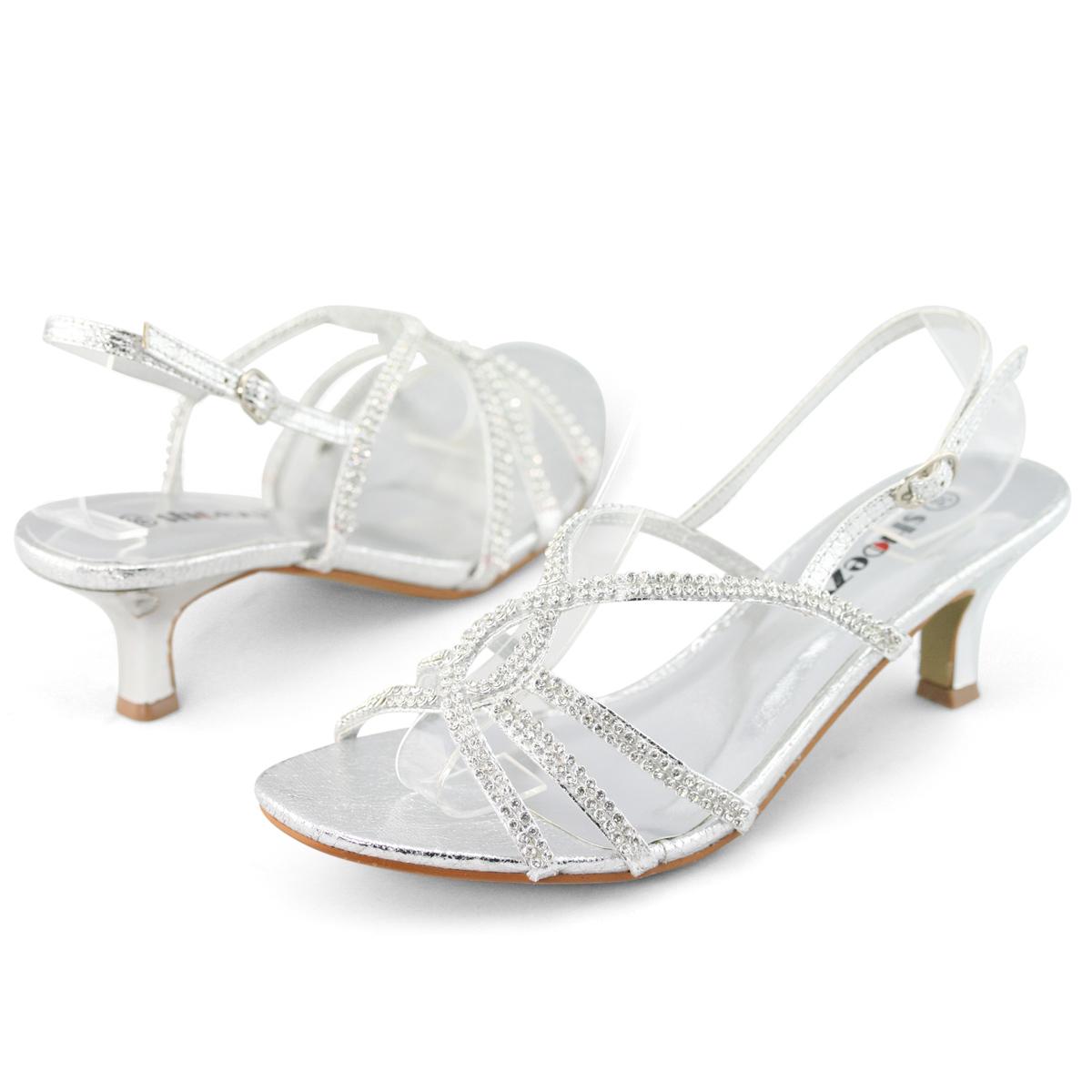 Silver Low Heel Shoes Australia