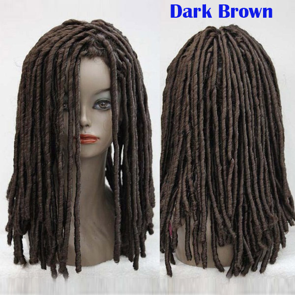 Wondrous Dreadlocks African Wig Long Wavy Curly Roll Hair Cosplay Costume Hairstyles For Women Draintrainus