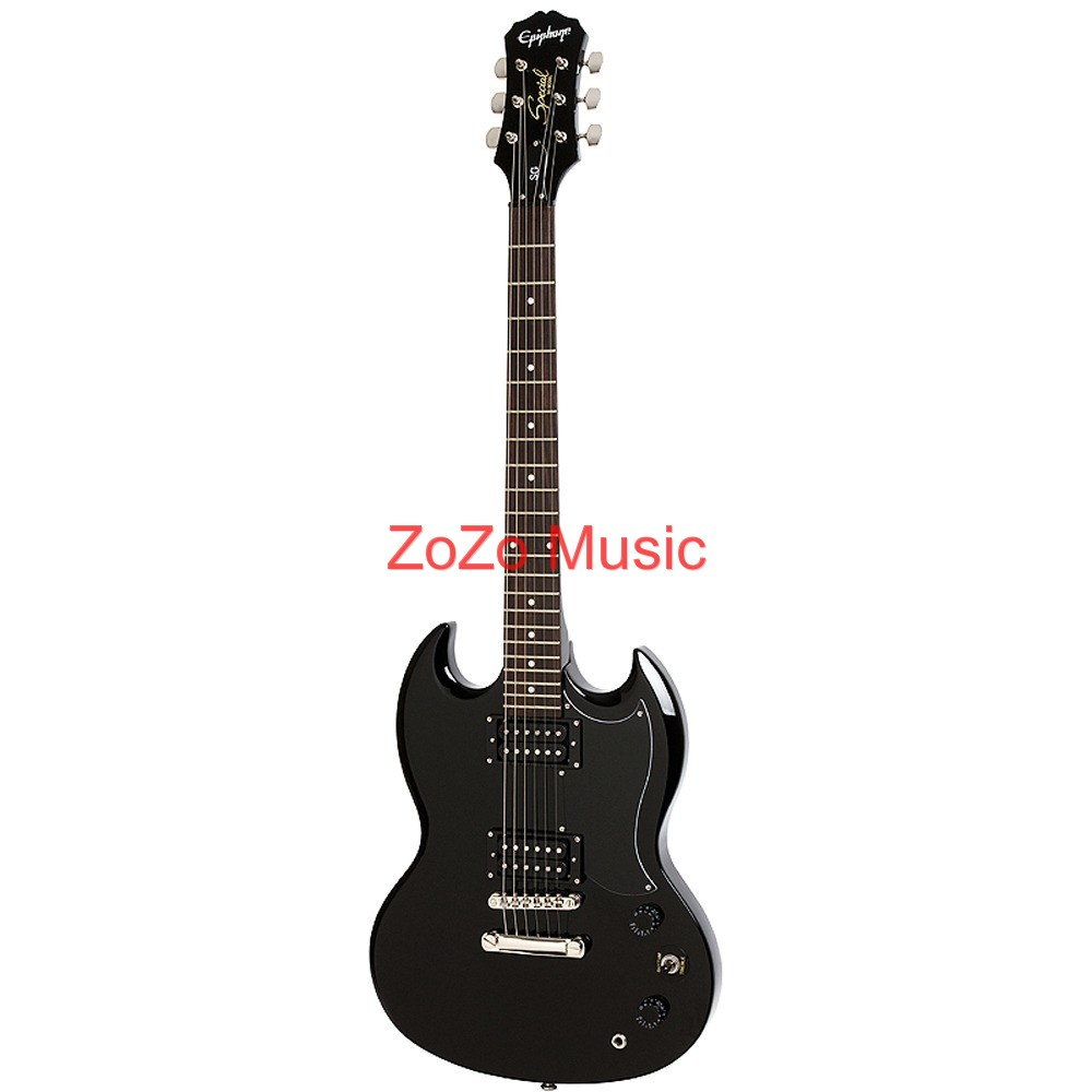 Gibson Epiphone Sg Special Black 6 String Electric Guitar Free On