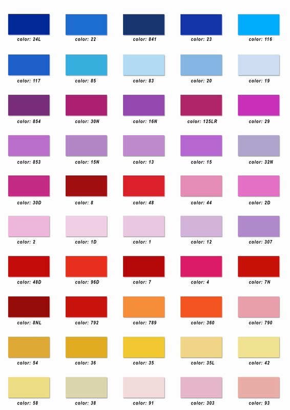 Embroidery Floss Color Chart Pictures To Pin On Pinterest
