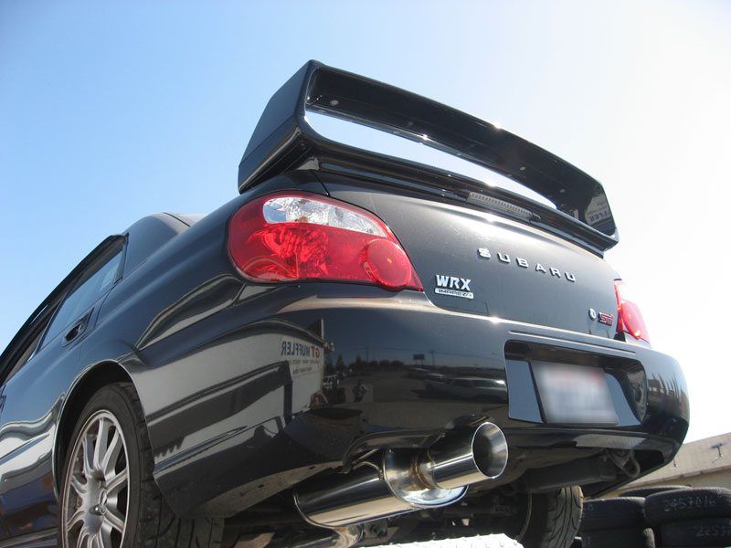 a look at the exhaust systems on a car