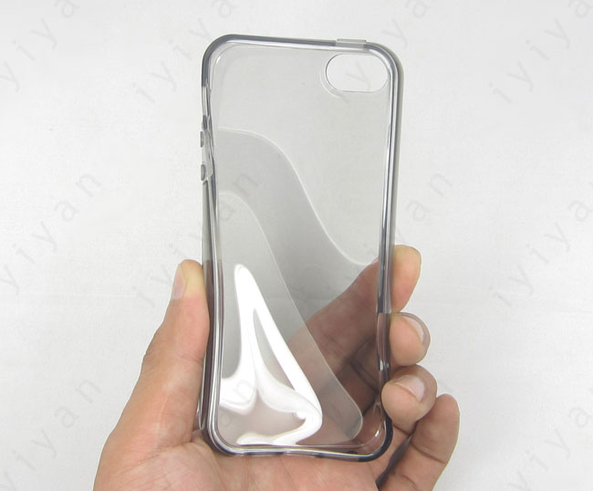 Clear Rubber Iphone  Case
