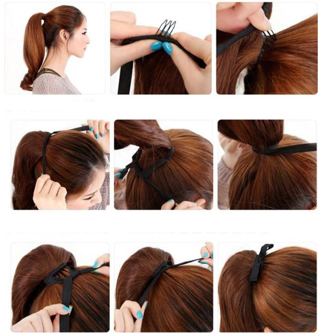 Admirable Can You Put Your Hair In A Ponytail With Clip In Extensions Hairstyle Inspiration Daily Dogsangcom
