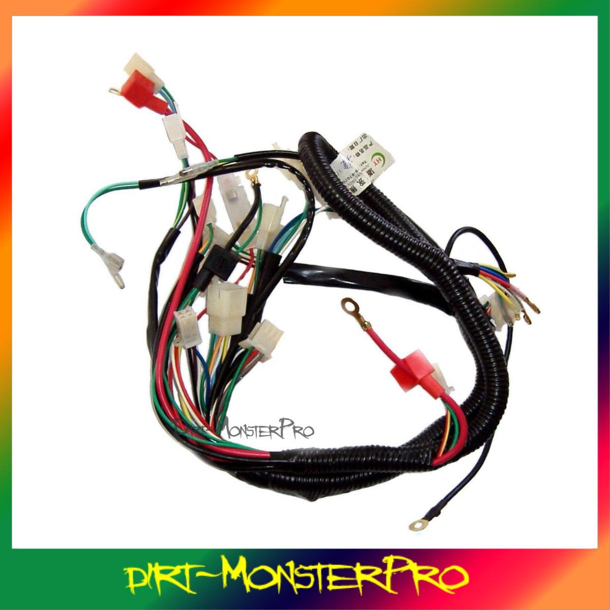 chinese 125cc atv plete wiring diagram chinese 50cc