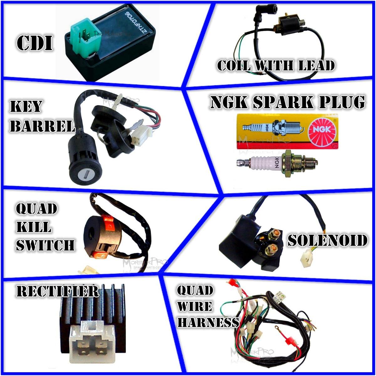 chinese atv wiring diagram simple