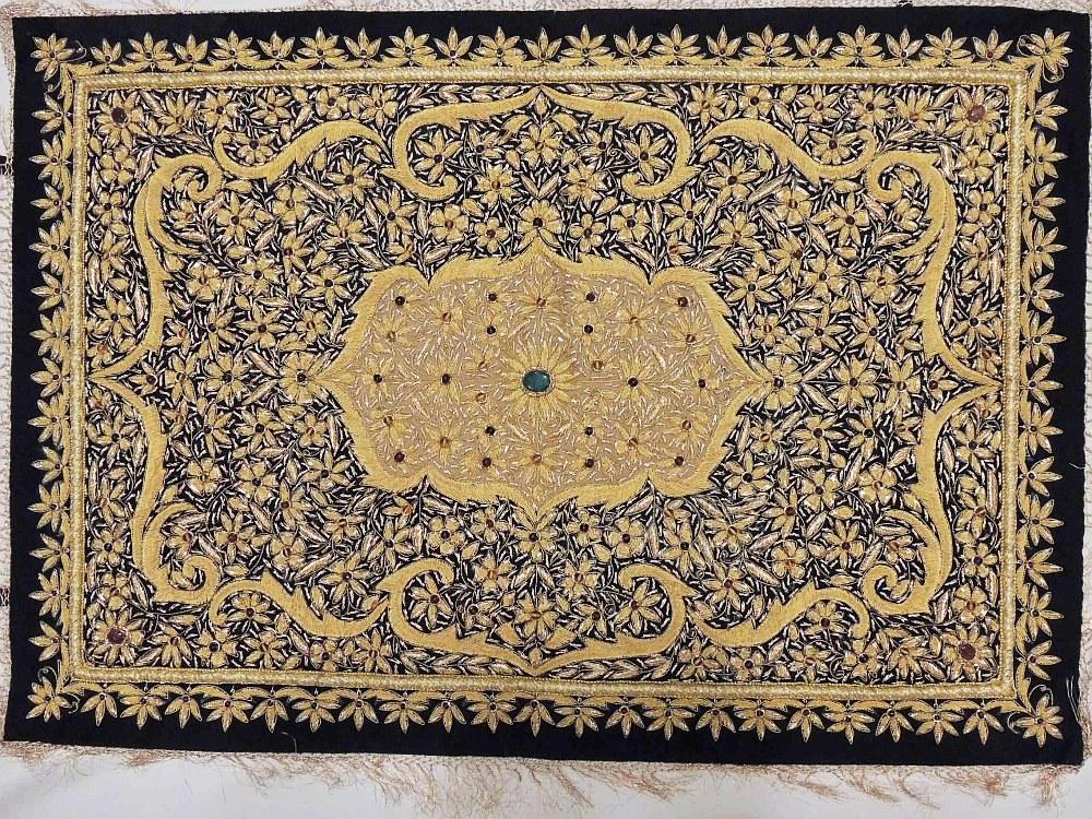 Hang Rug On Wall: Decorative Jewel Carpet Rug Wall Hanging Art Royal Kashmir