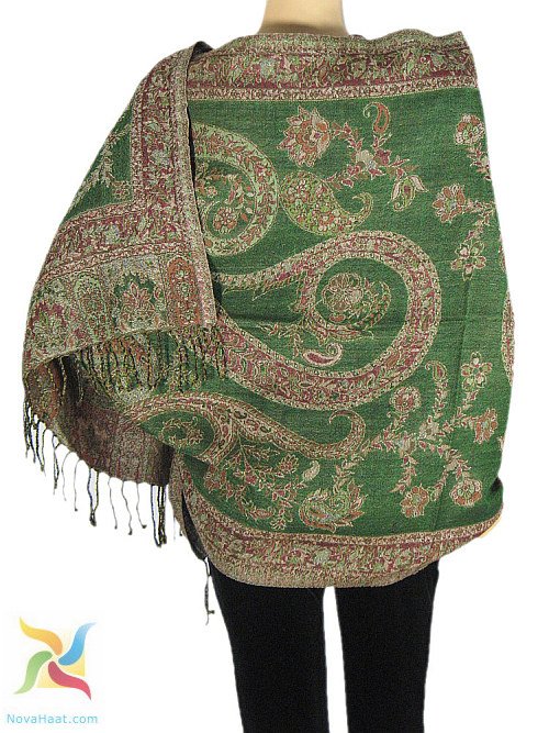 Indian Ethnic Decor For A Party Theme With Shawls