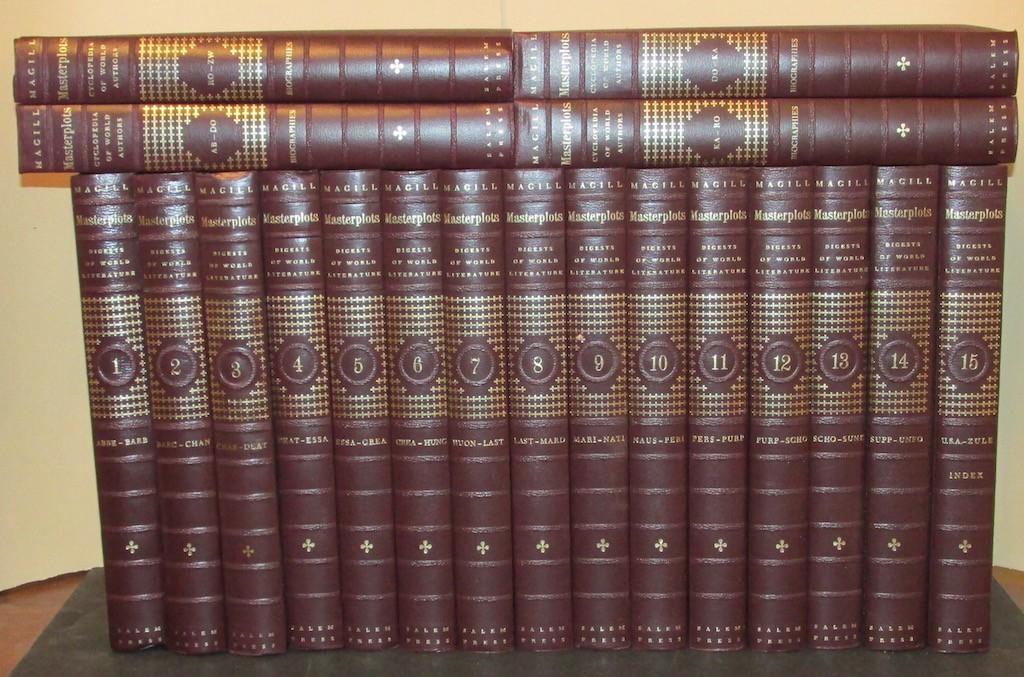 Image for Masterplots. Digests of World Literature. 15 Volume Set (Complete).