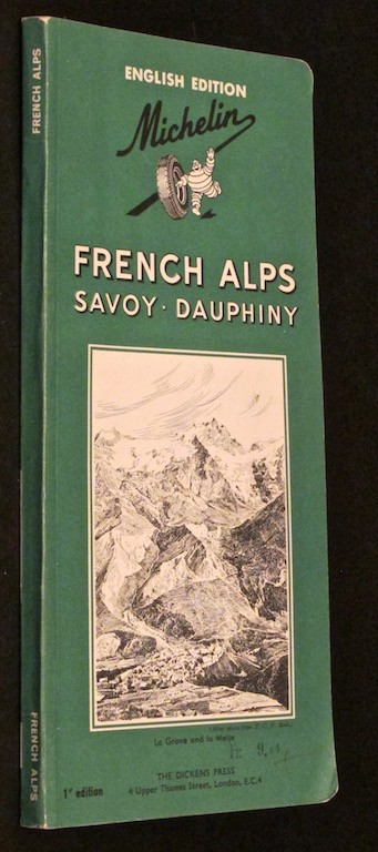 Image for Michelin Green Guide, French Alps  Savoy - Dauphiny