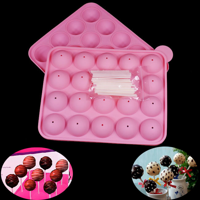 Cake Pop Silicone Mould Instructions