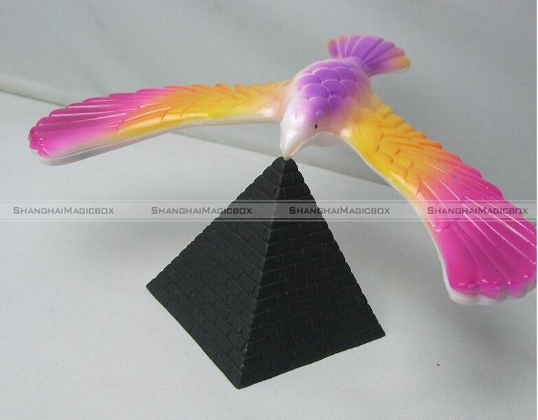 Magic balancing bird science desk toy novelty fun learning for Balancing bird template